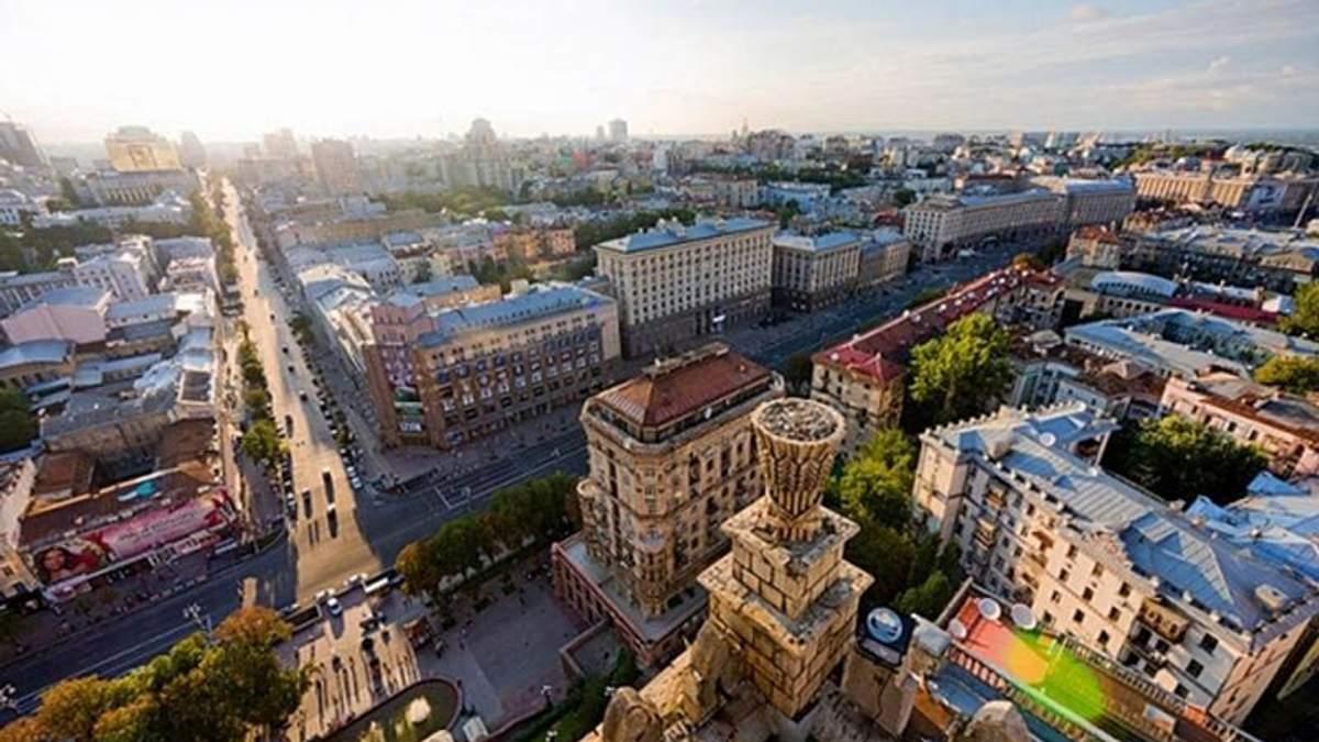 Оглядові майданчики Києва та відкриті дахи: ціна і фото