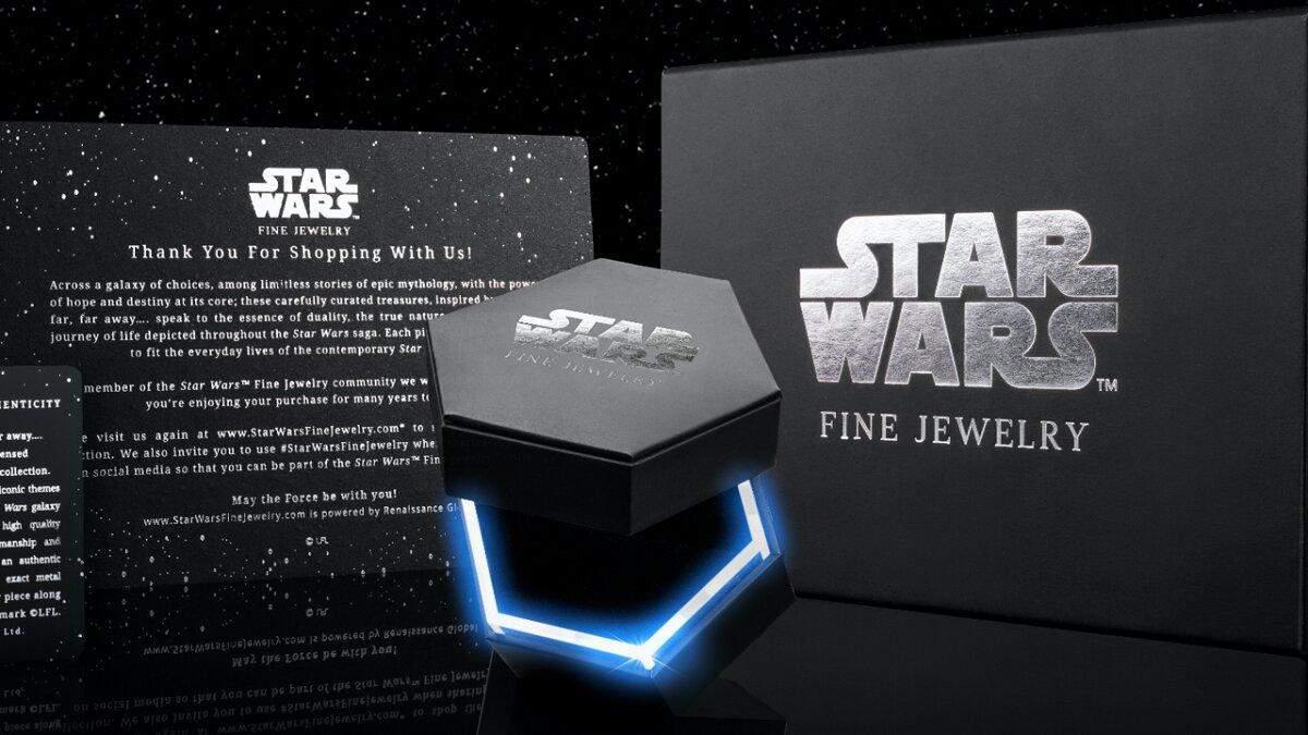 Коллекция ювелирных изделий от Star Wars