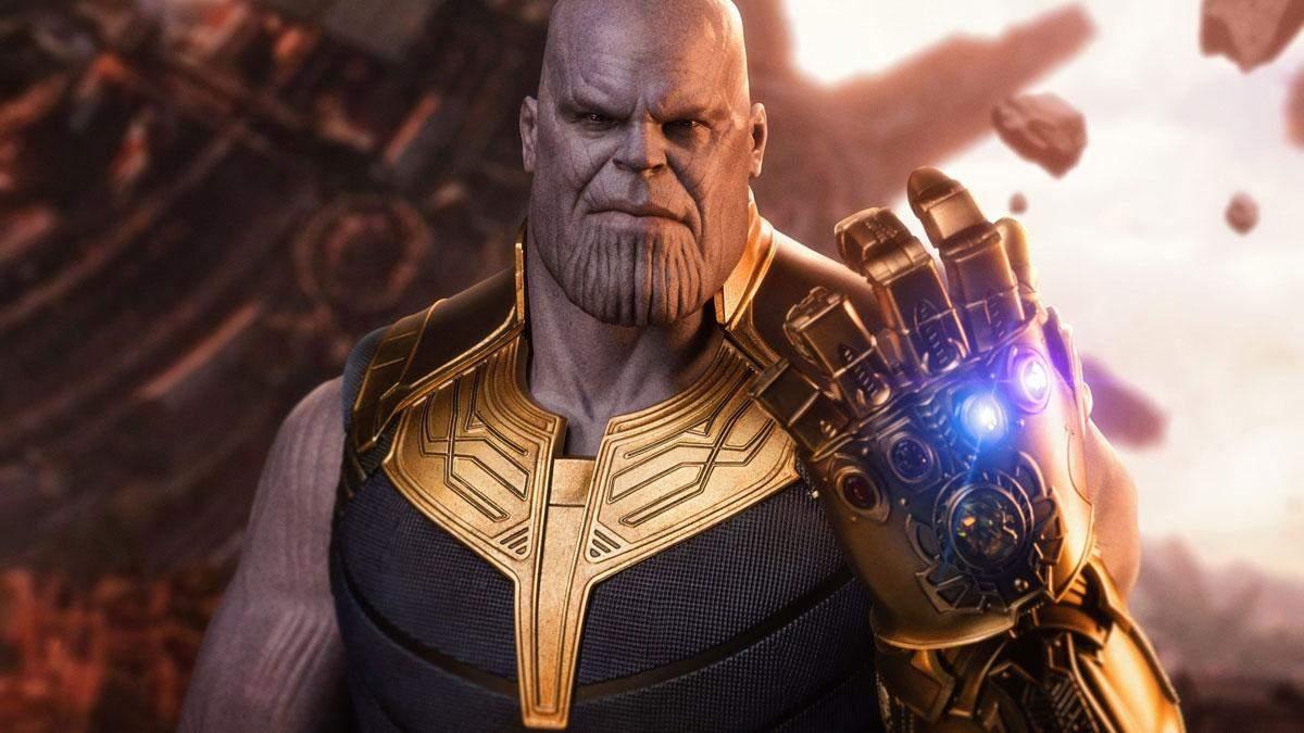 """Танос у фільмі """"Месники: Війна Нескінченності"""""""