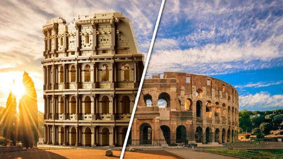 Lego выпустила  свой самый большой конструктор Колизей