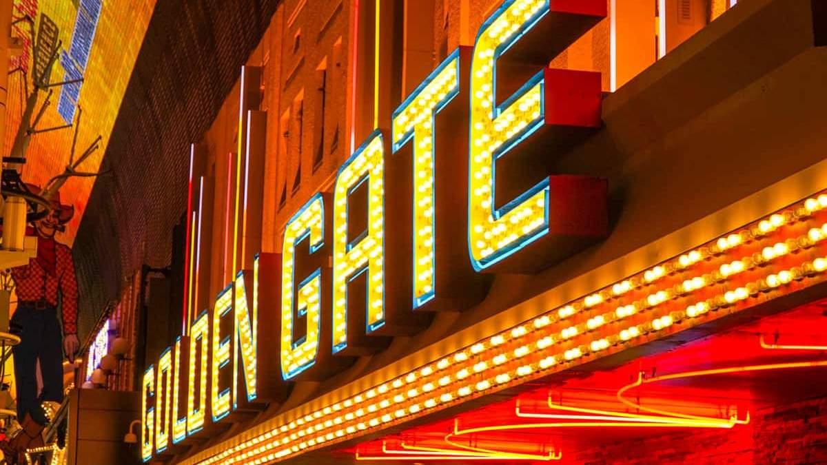Голден Гейт: история старейшего казино Лас-Вегаса