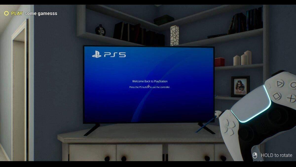 Play Station 5 Simulator