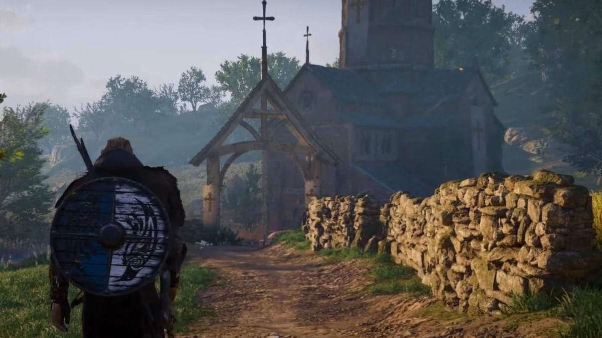 Трехчасовая прогулка по Англии в игре Assasin's Creed Valhalla: видео виртуальных пейзажей
