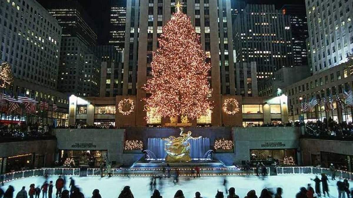 Який рік, така і ялинка: чому нью-йоркці висміяли головне різдвяне дерево міста