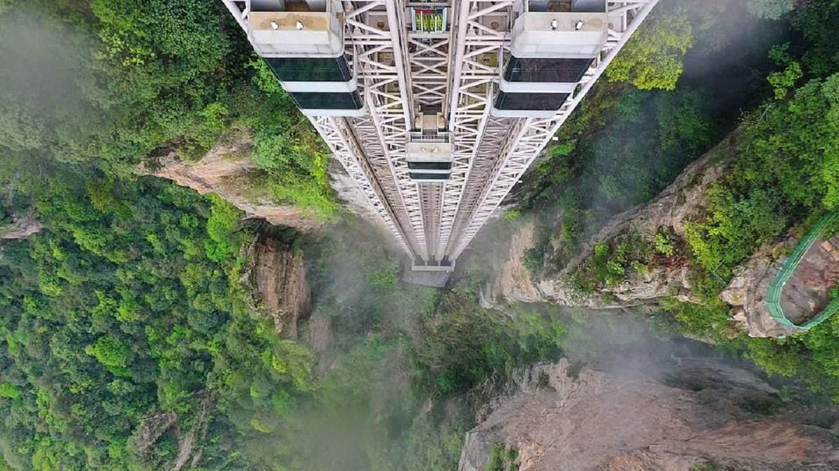 """Лифт ста драконов – сооружение, что за минуту доставит вас в джунгли Пандоры из фильма """"Аватар"""""""