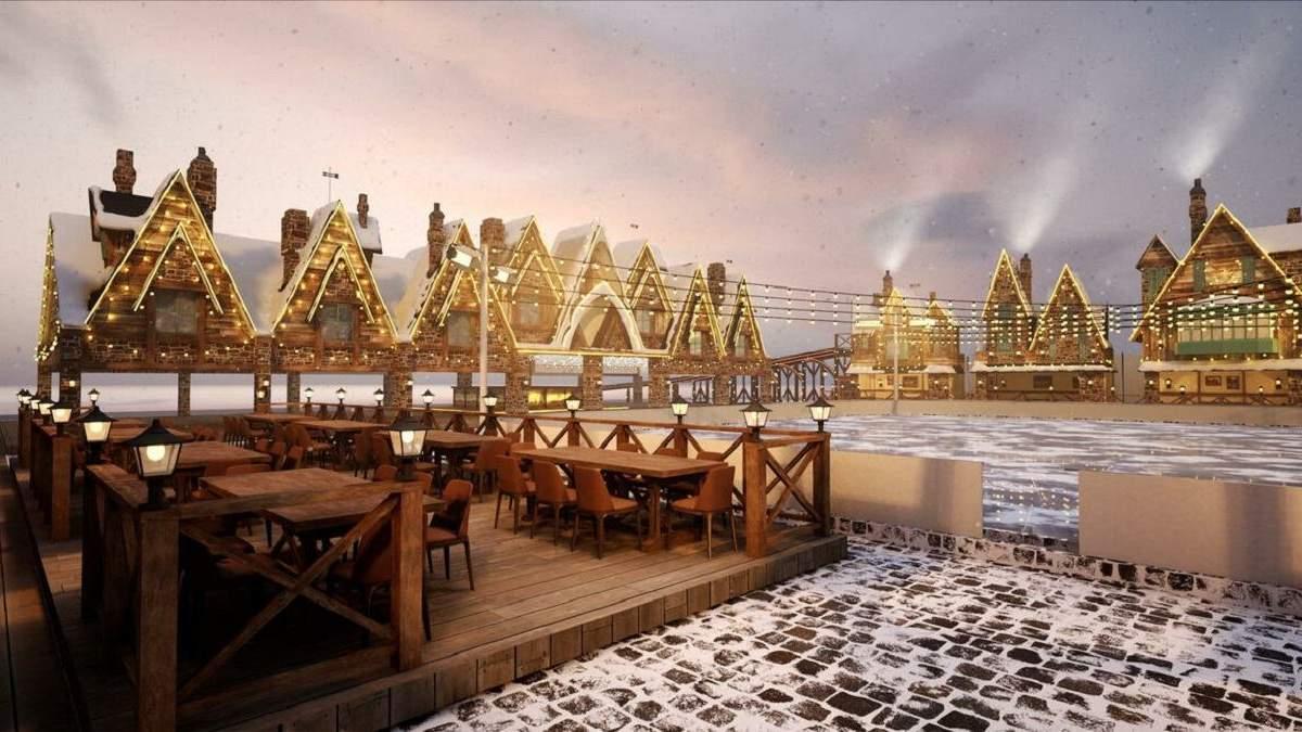 Украинский Хогсмид: в Киеве откроют новую зимнюю локацию в стиле Гарри Поттера – фото