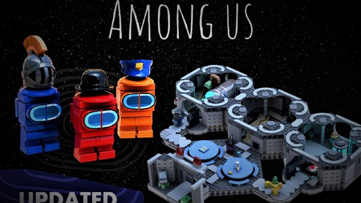 Конструктор Lego за мотивами гри Among Us