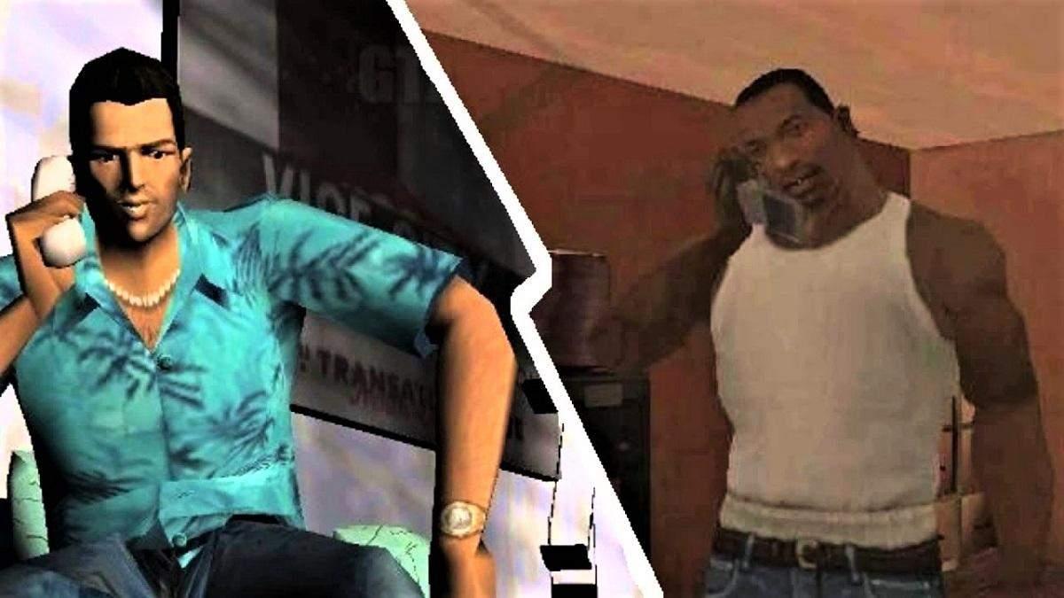 Сі-Джей та Томмі Версетті: як герої GTA виглядали б у реальному житті – фото