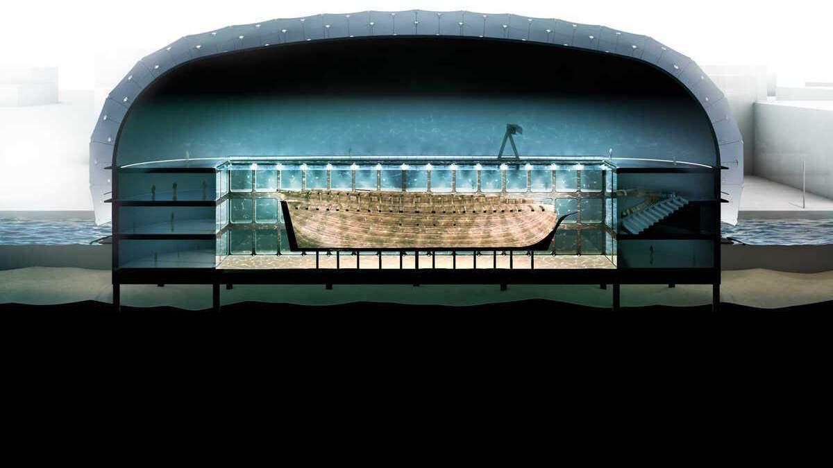 В Амстердаме построят музей вокруг корабля, который затонул больше, чем 270 лет назад – фото