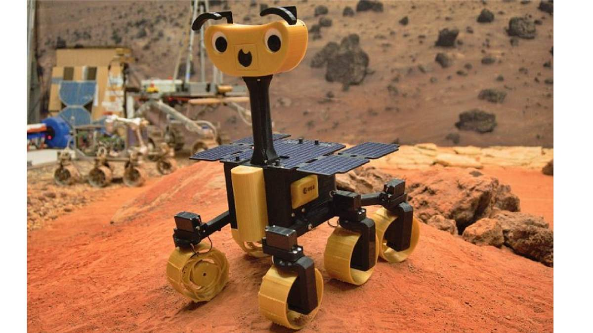 Марсохід Rosalind Franklin ExoMars доступний кожному: креслення 3D-версії від ESA