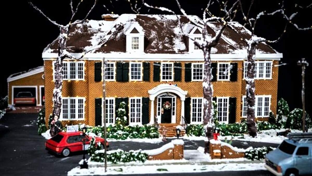 """""""Сам удома"""" святкує ювілей: художниця створила копію будинка сім'ї Маккаллістерів – фото"""
