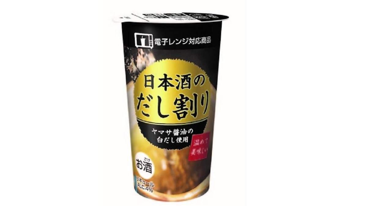 Японский алкогольный суп быстрого приготовления