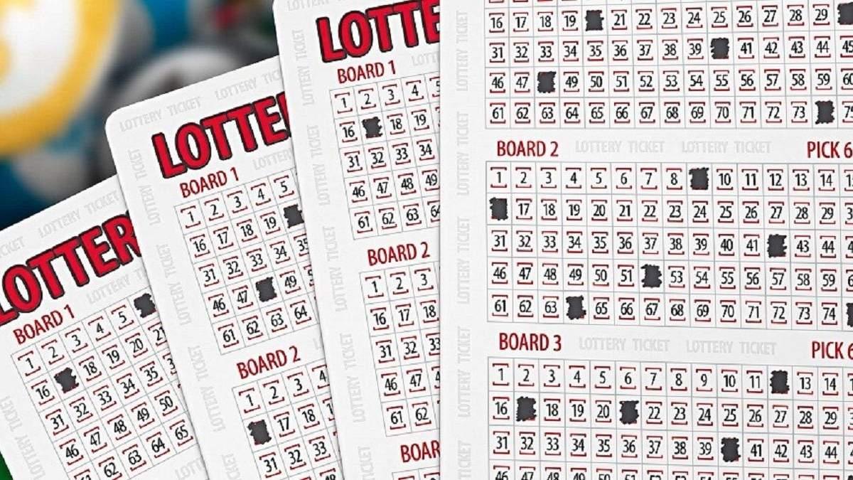 Американец выиграл 800 000 долларов в лотерею с одной комбинацией