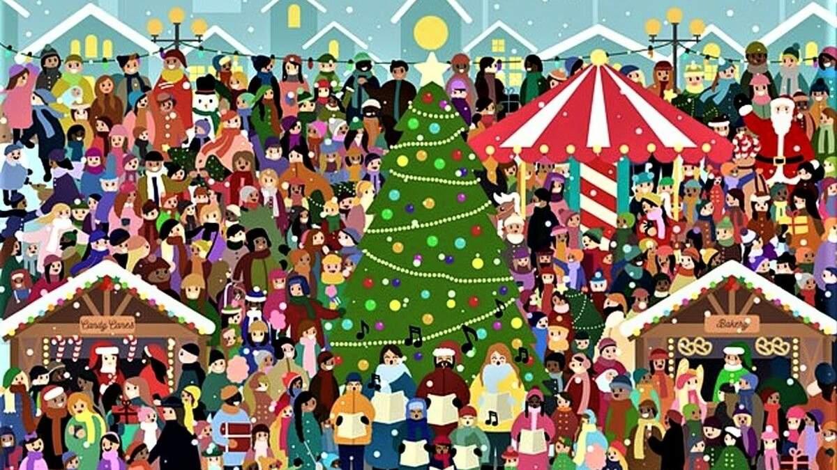 Найди меня: подборка праздничных головоломок, чтобы развлечься и потренировать мозг