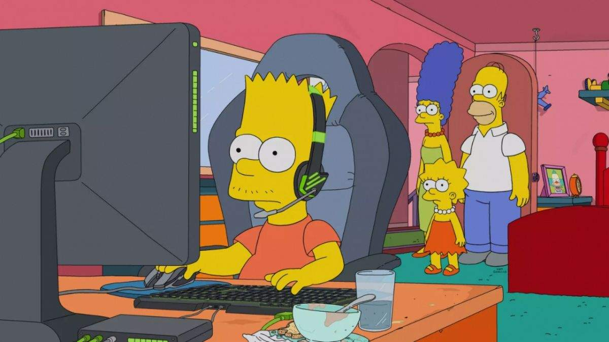 У мережі з'явилася відеогра про Сімпсонів