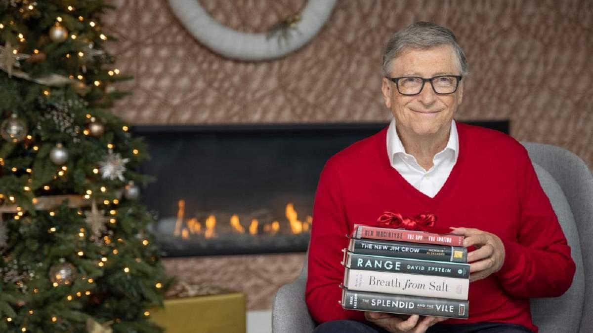 5 книг, які рекомендує Білл Гейтс