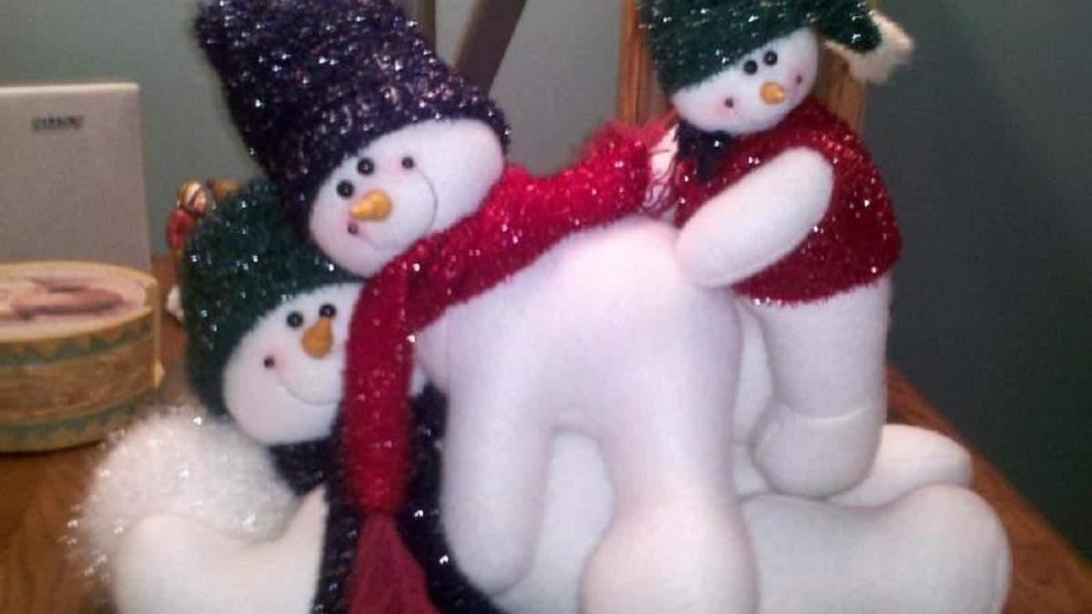Хотели празднично украсить, а получилась пошлость и уродство: подборка новогодних фейлов