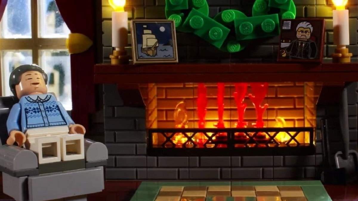 Новогоднее видео от компании Lego