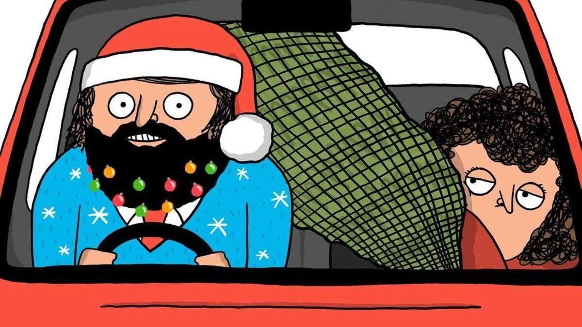 Дуже смішні і дуже життєві комікси про свята