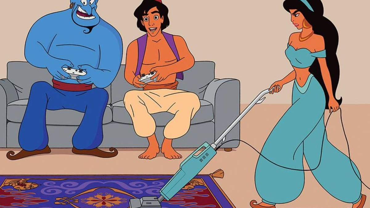 Домогосподарка, а не принцеса: що було б, якби персонажі Disney потрапили у сучасний світ