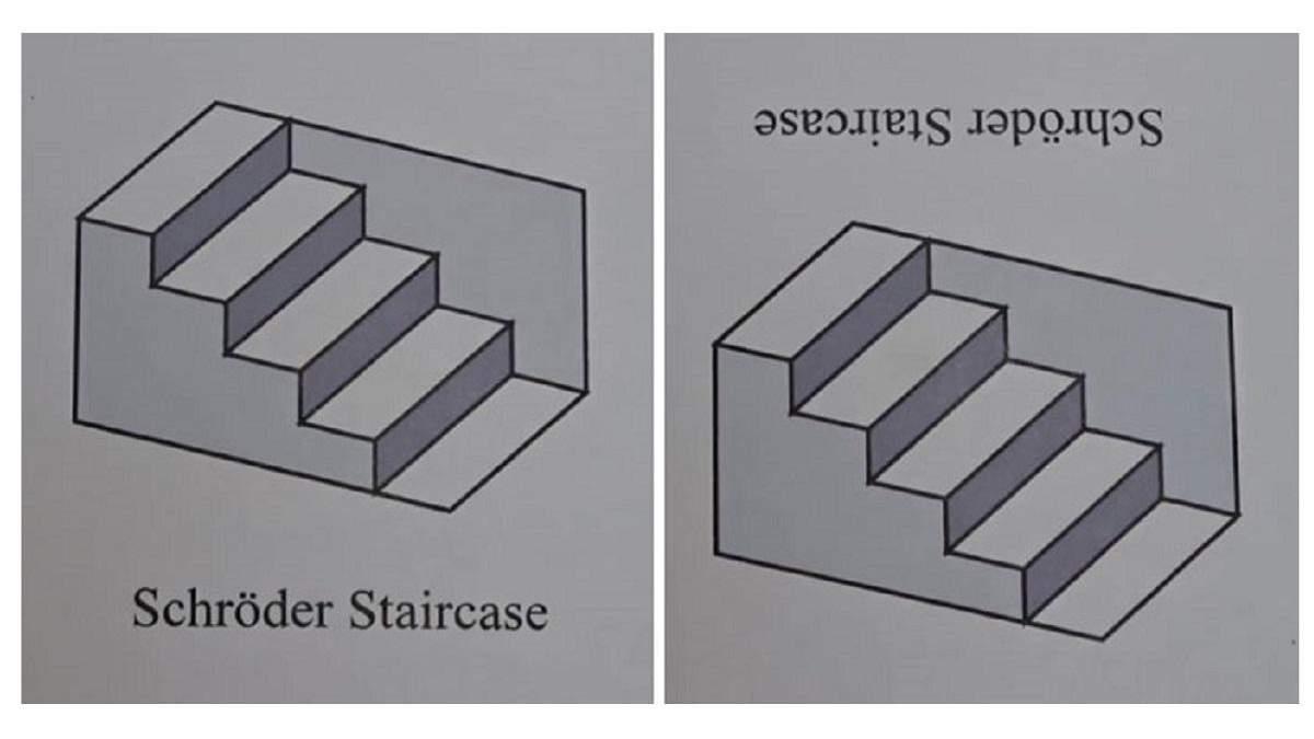 Головна головоломка 2020 року: тривимірна оптична ілюзія сходів Шредера