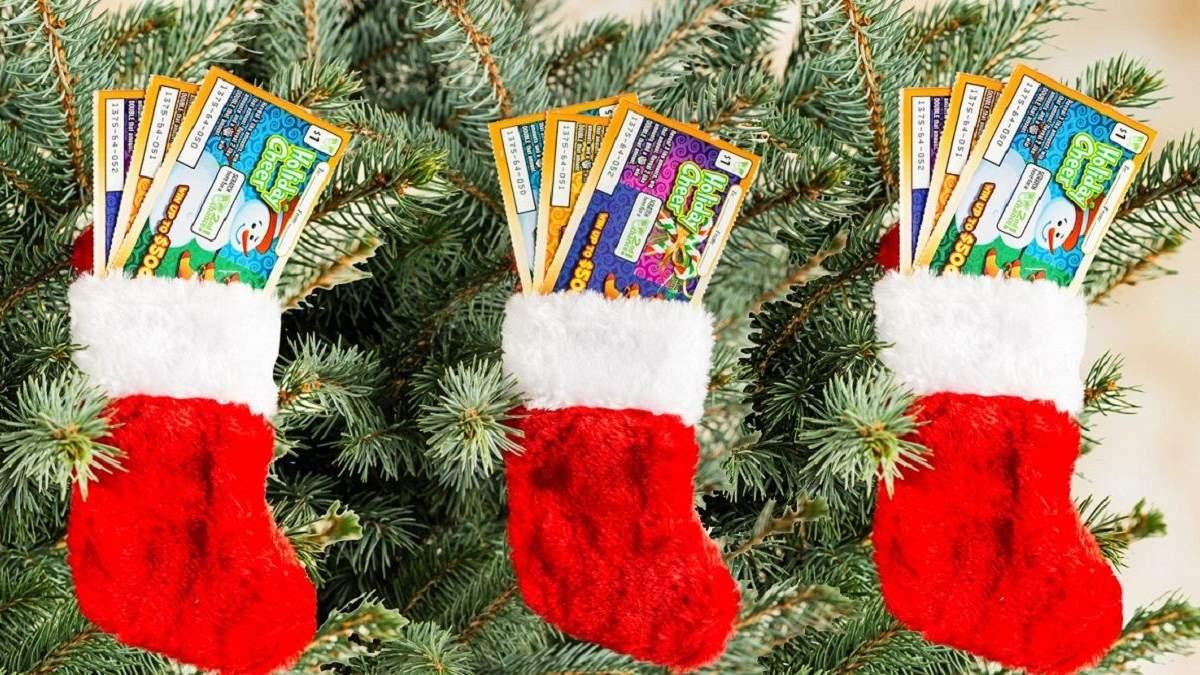 Мільйон доларів на Різдво:  американець отримав  у подарунок лотерейний білет і зірвав джекпот