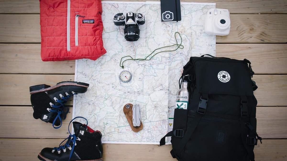 Как упаковать рюкзак для похода