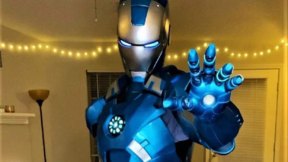 Костюм Железного человека, созданный с помощью 3D-принтера