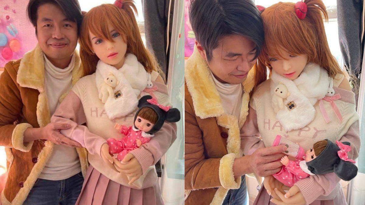"""У сім'ї китайця, одруженого на секс-ляльці, """"народилася"""" дитина"""