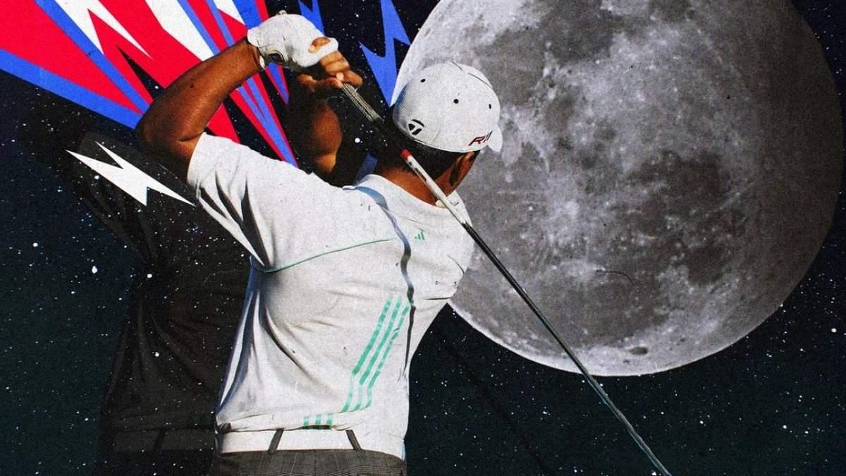 На Луне нашли мячи для гольфа