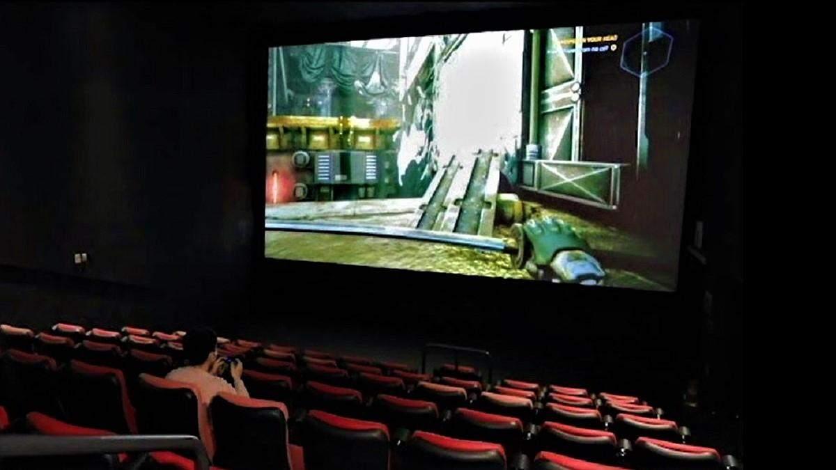 Відеоігри на великому екрані: кінотеатри здаватимуть геймерам зали в оренду