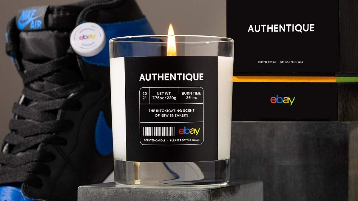 eBay створив свічку з ароматом нових кросівок