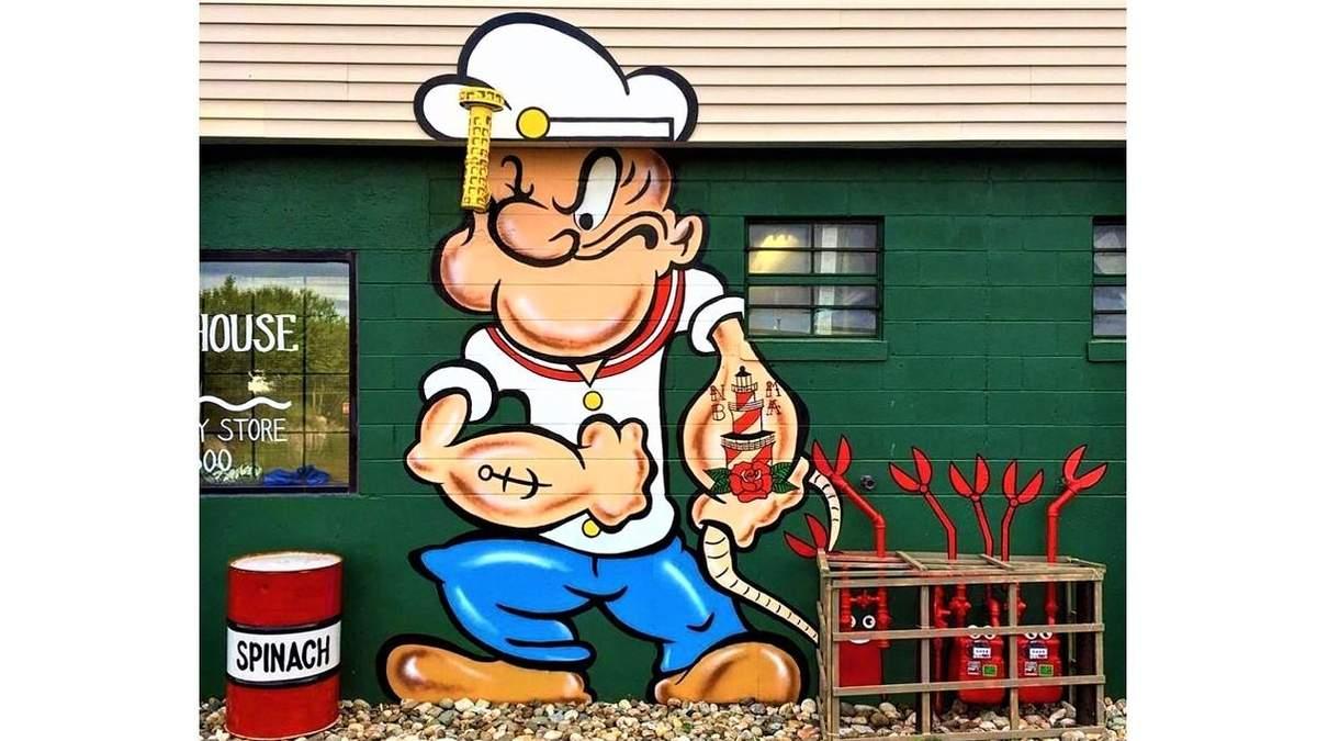 Кумедні графіті на вулицях Нью-Йорка