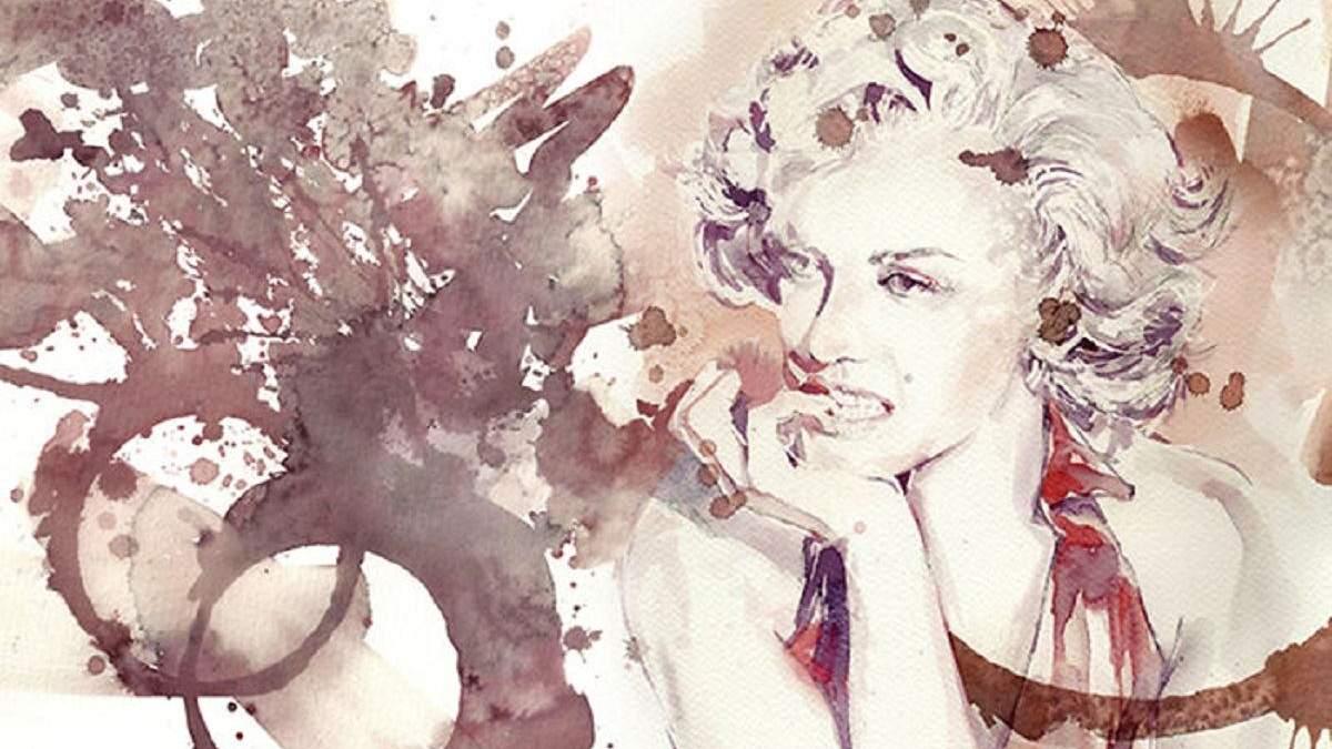 Художниця створює неймовірні картини вином