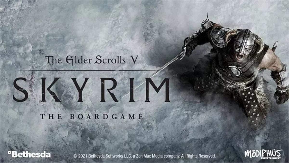 Skyrim анонсировал выход собственной настольной игры