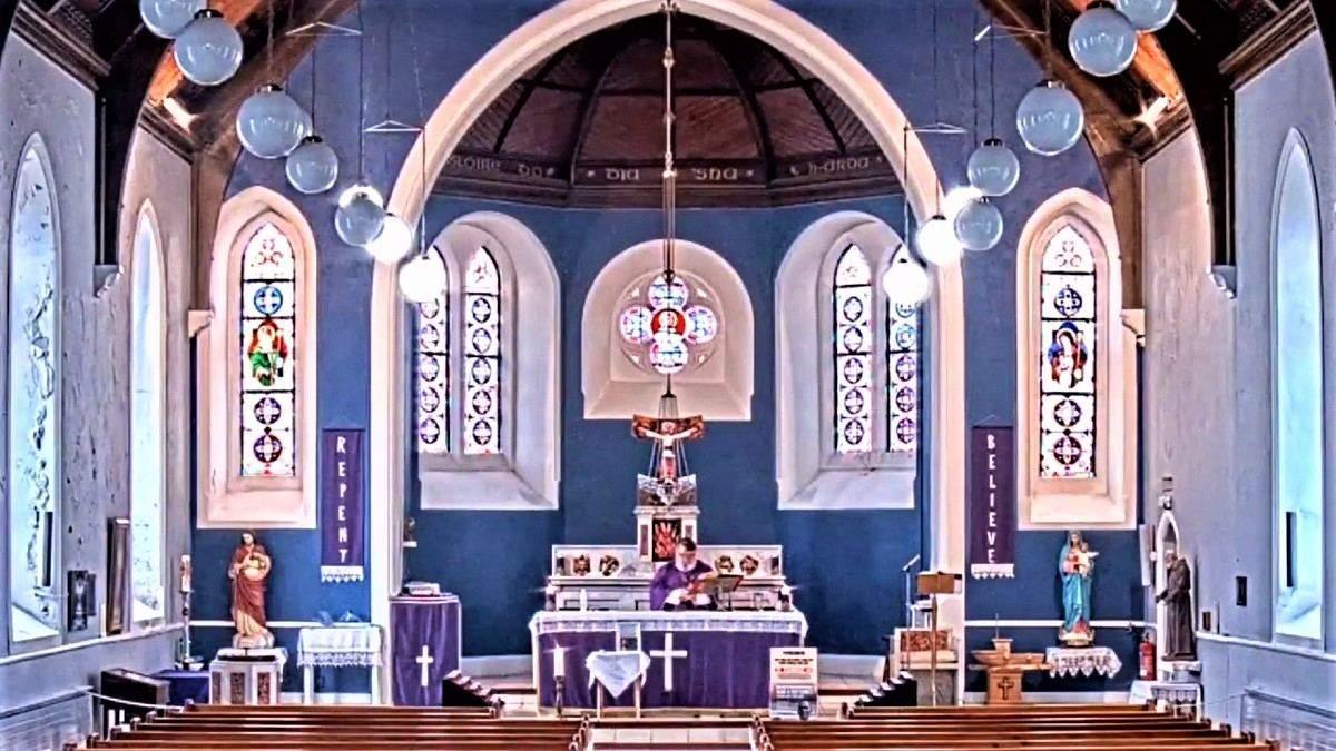 Реп на проповіді у церкві