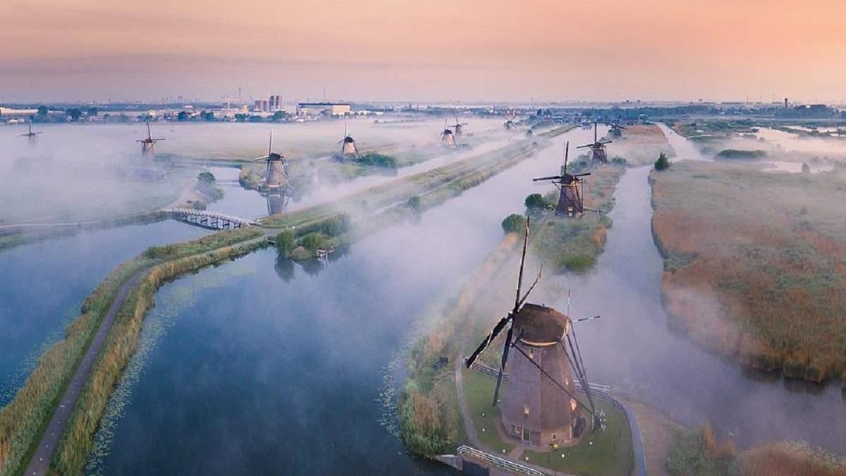 Пилот Boeing 737 делает невероятные фотографии Нидерландов