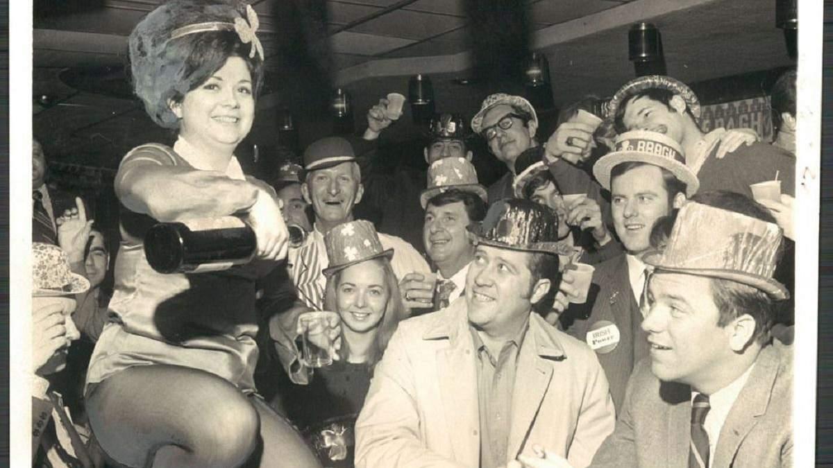 Как праздновали День Святого Патрика в Балтиморе в 1970-х годах
