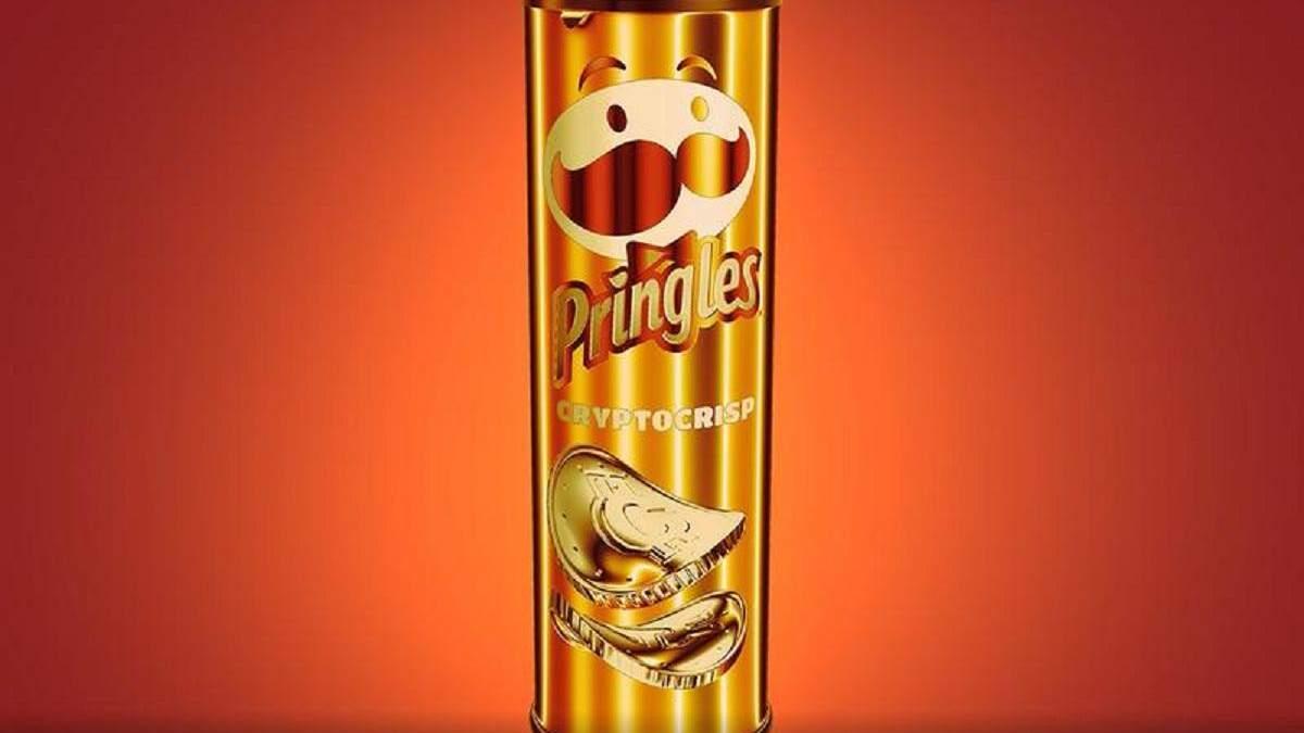 Виртуальные чипсы Pringles