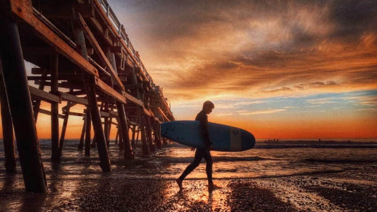 Mobile Photography Awards 2020: переможець у категорії Вода / Сніг / Лід – Сан-Клементе, Роджер Клей