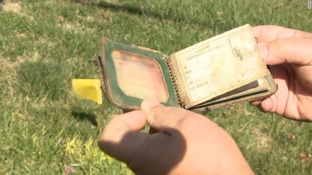 Женщине вернули кошелек через 70 лет после того, как она потеряла его в школе