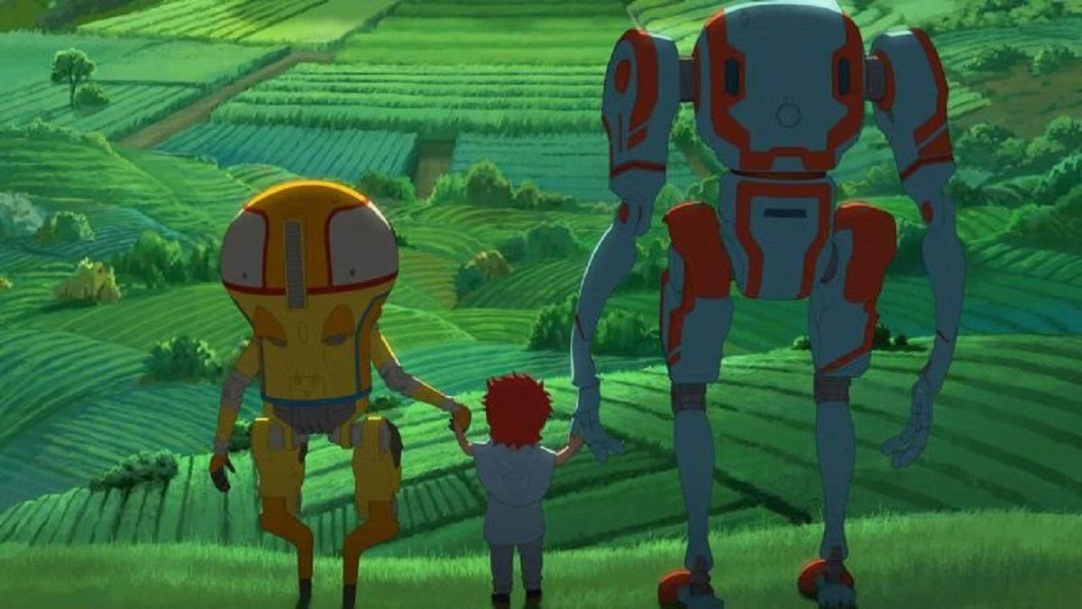 """""""Эдем"""": научно-фантастический японский аниме-сериал о мире роботов"""