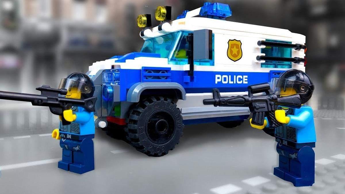 Французская полиция вышла на след международной банды похитителей Lego