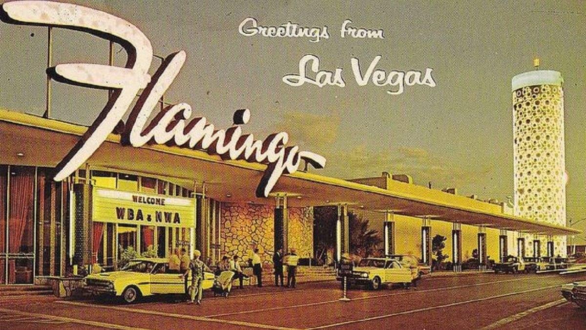 """Фотоистория легендарного казино """"Фламинго"""" в Лас-Вегасе"""