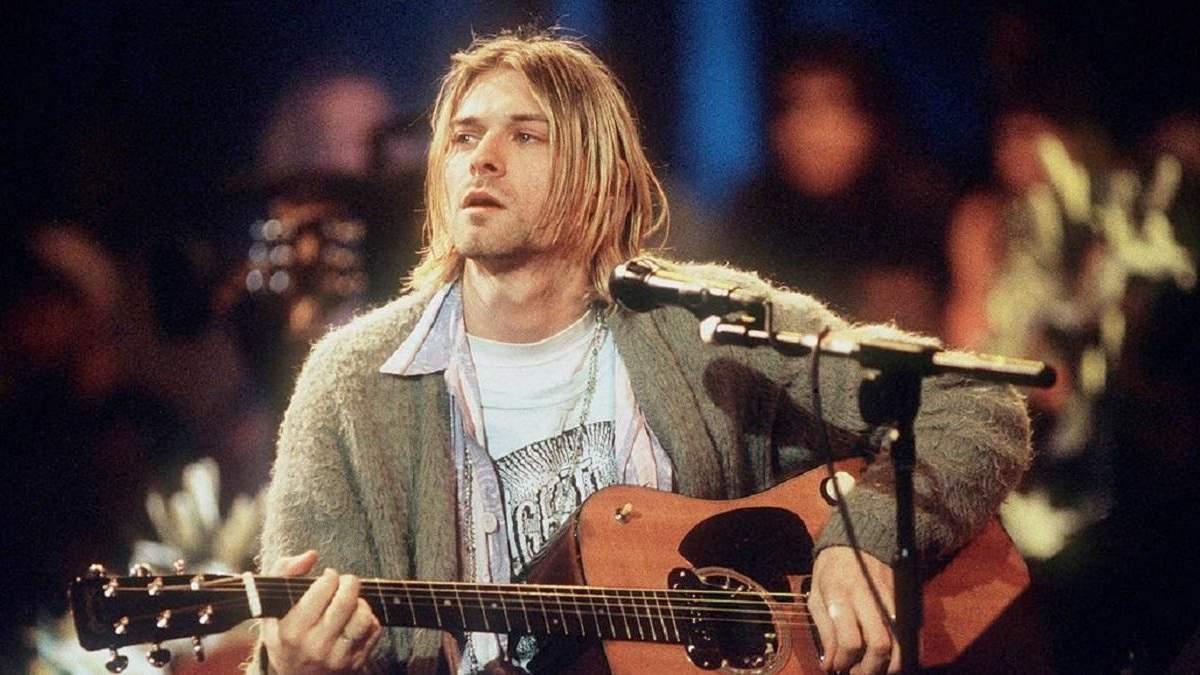 Курт Кобейн – лидер группы Nirvana