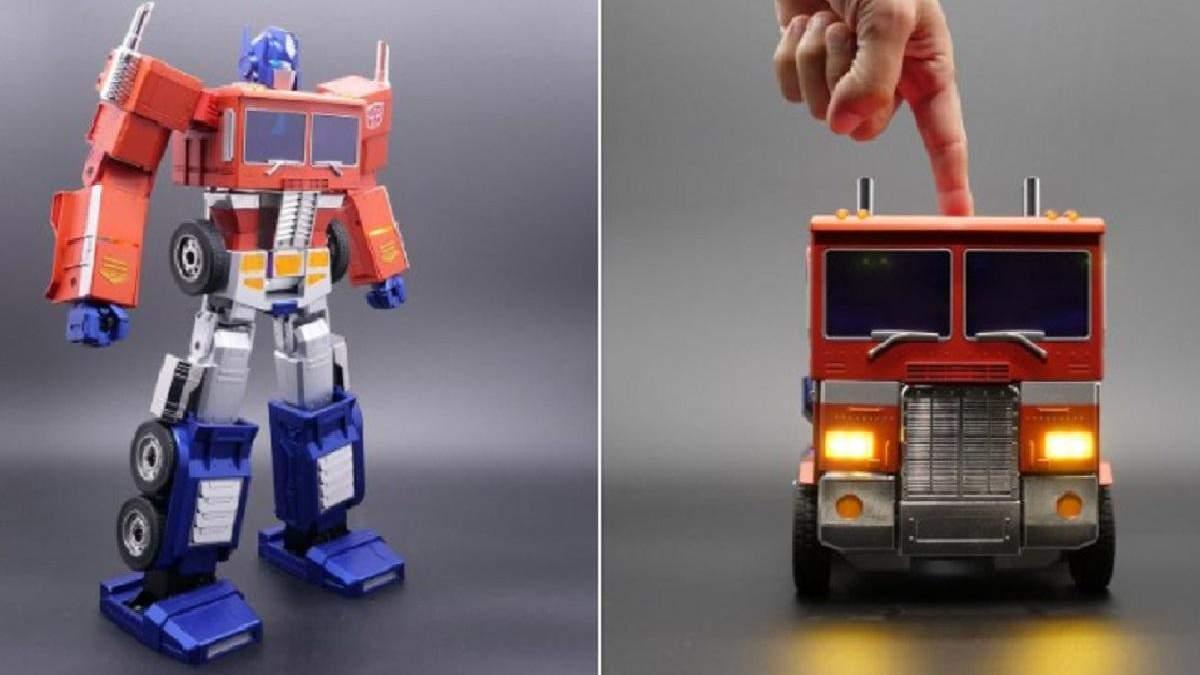 Hasbro представила интерактивного робота Optimus Prime с функцией автоматического преобразования