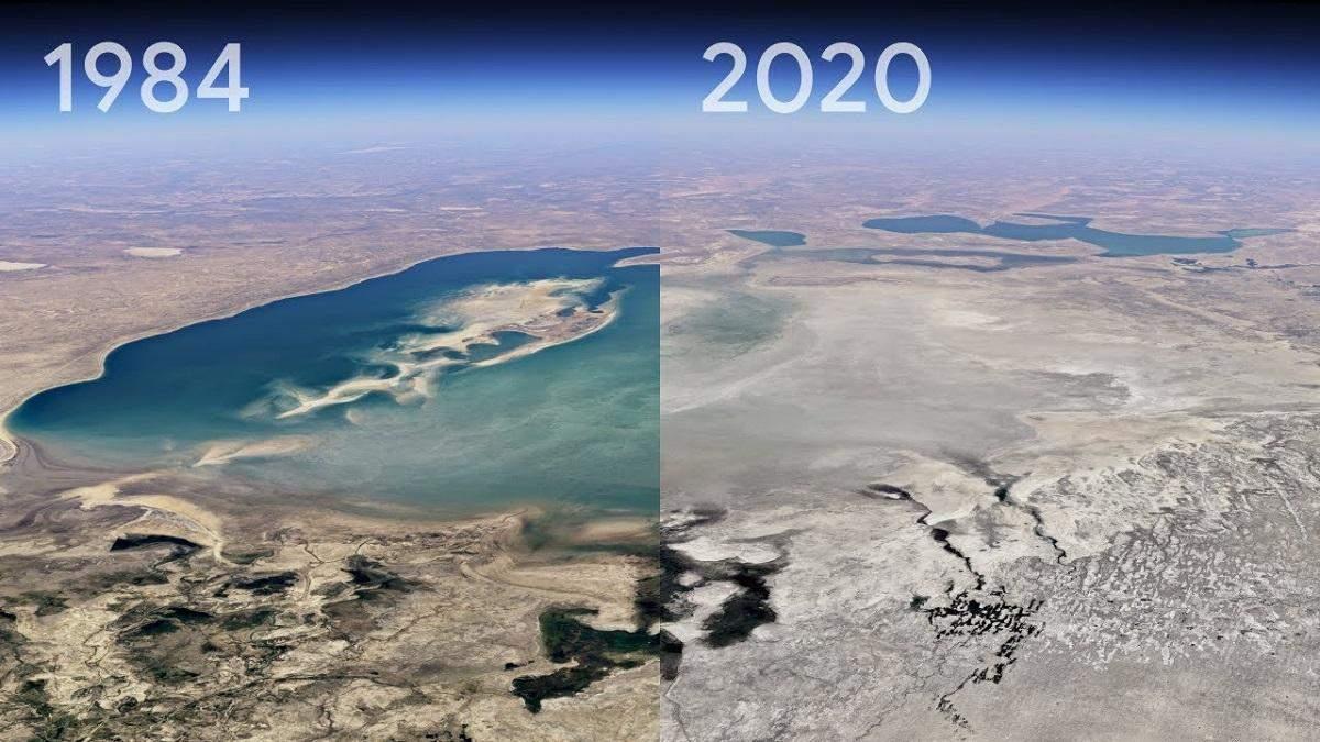 Як змінилася планета за 37 років: Google Earth представив функцію таймлапсу – захопливі відео
