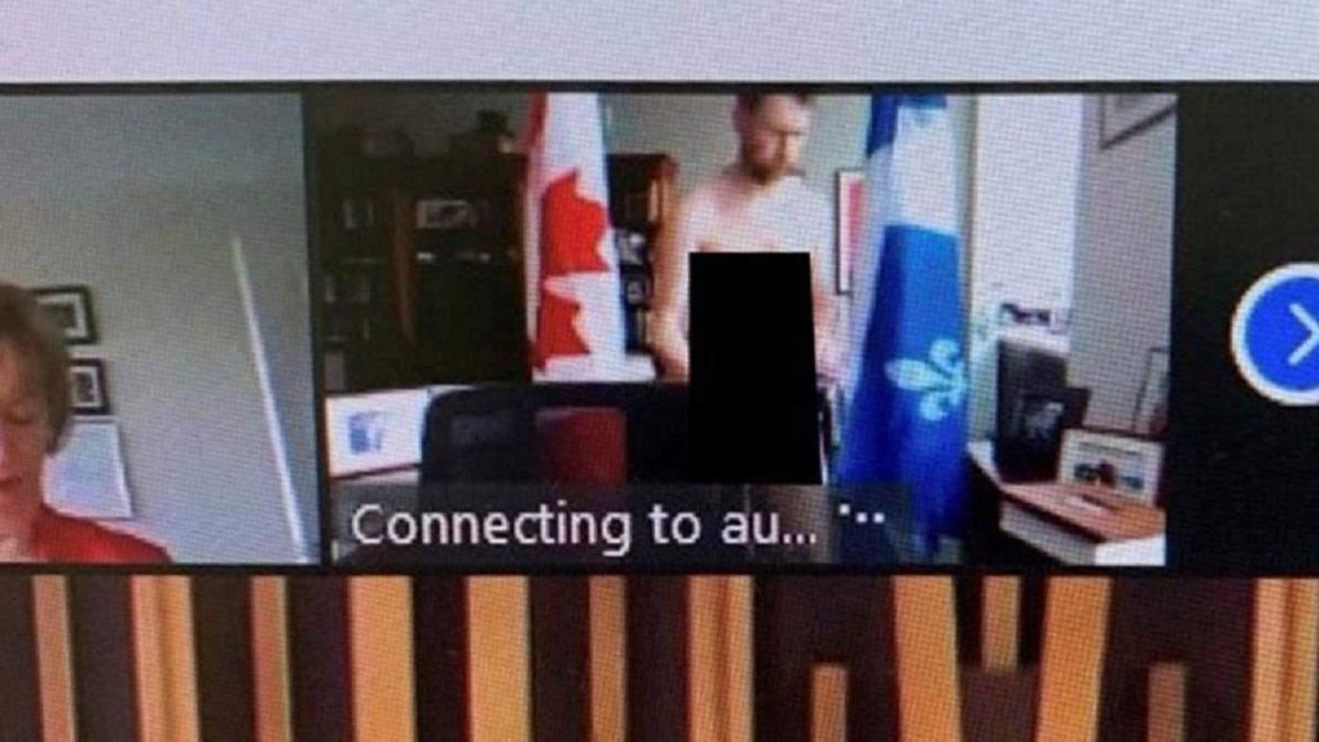 """""""Це була прикра помилка"""": канадський депутат з'явився повністю оголеним на онлайн-засіданні"""