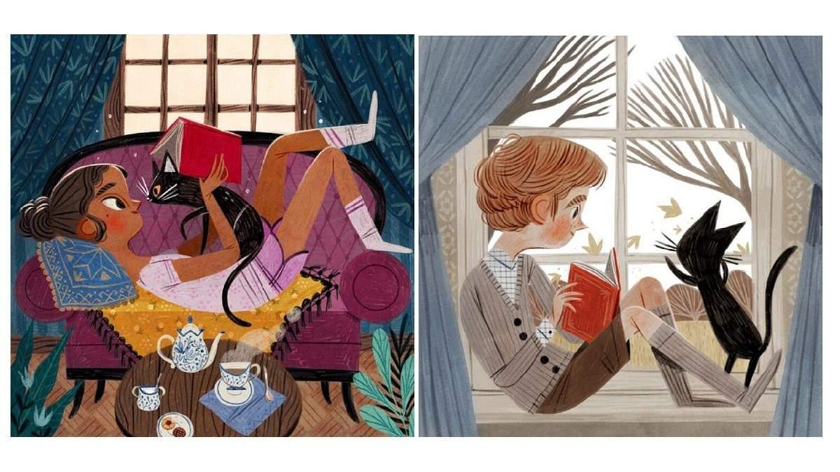 Мир волшебной сказки: фантастически-забавные истории в иллюстрациях Дэвида Листона