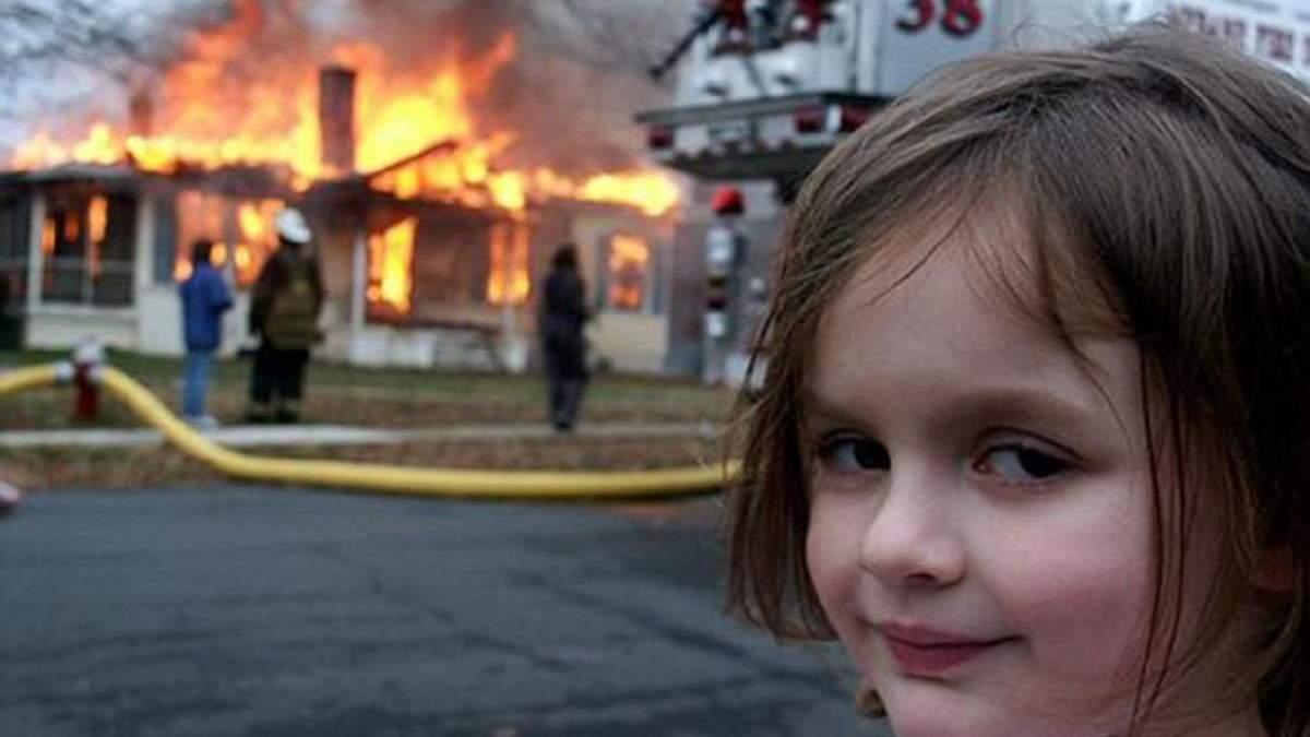 """""""Дівчинка-катастрофа"""" заробила близько пів мільйона доларів на продажу NFT свого мему"""